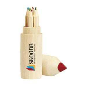 Colour Woody kleurpotloden in koker